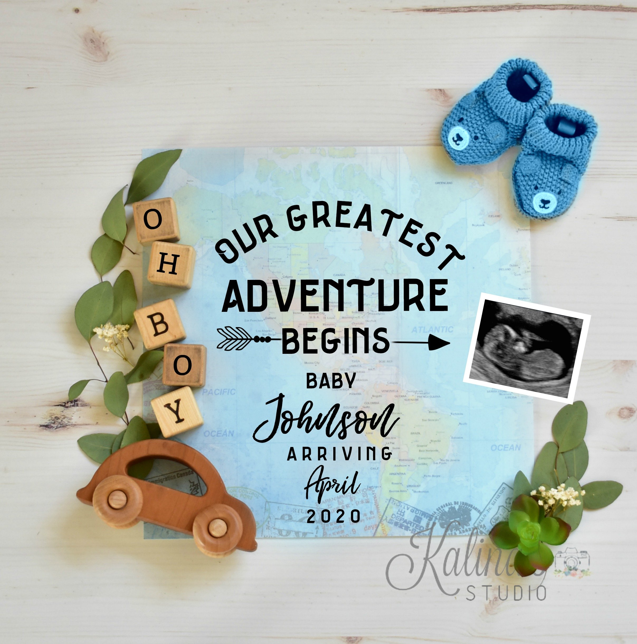 Boy Gender Reveal 7