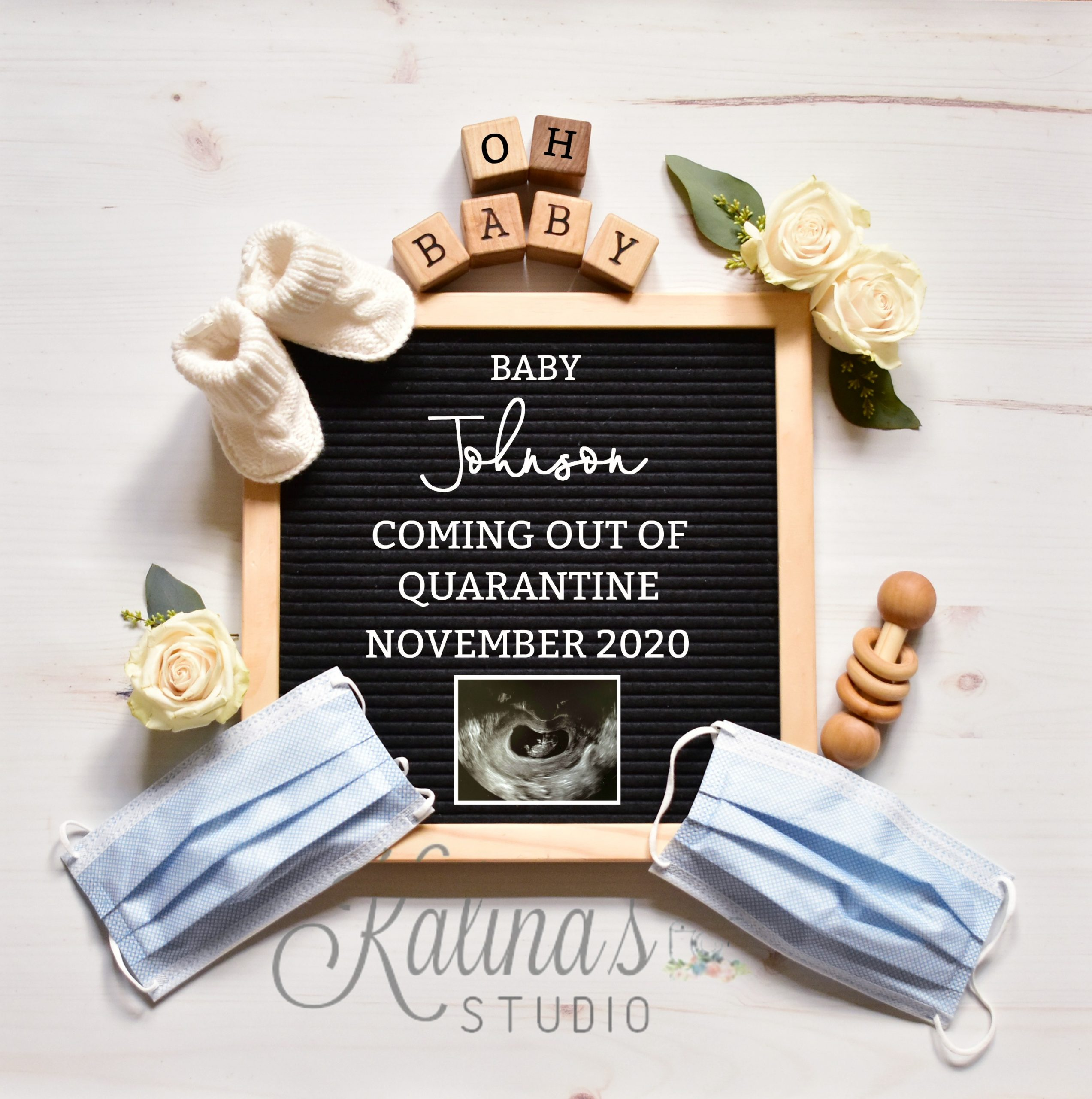 Quarantine Pregnancy Announcement