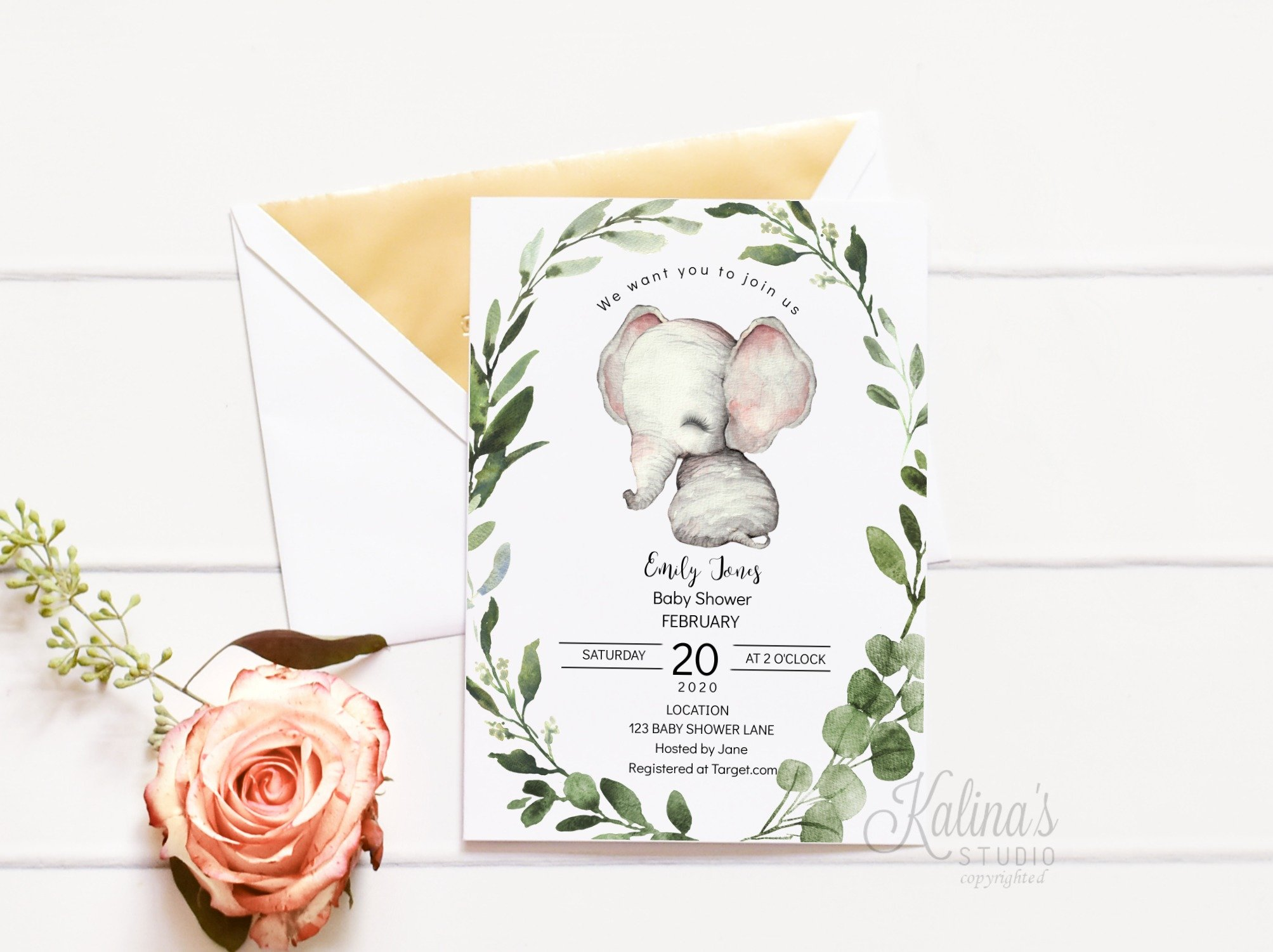 elephantbabyshowerinvitation