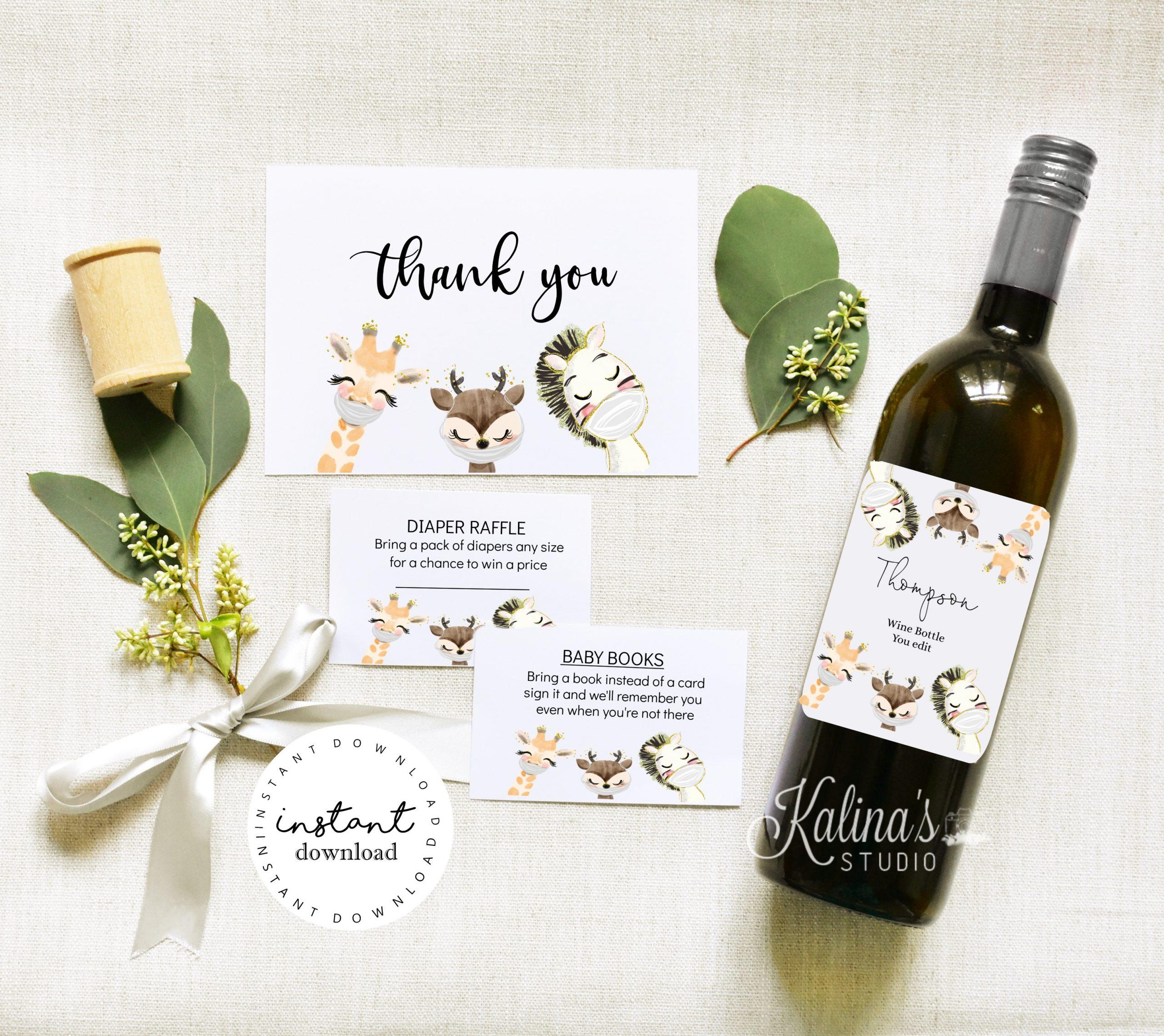 baby celebration invitation
