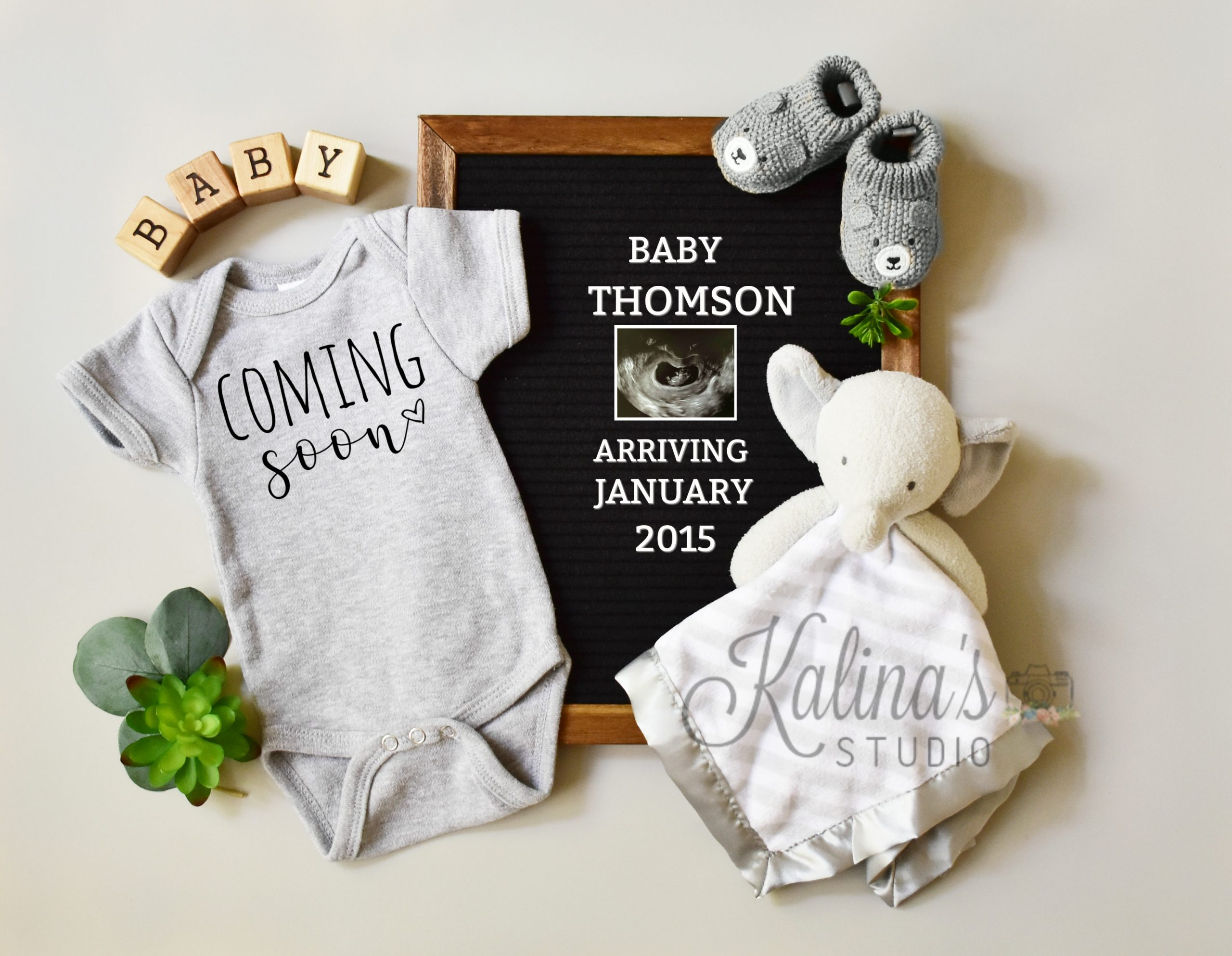 Coming Soon Baby Pregnancy Announcement For Social Media Kalina S Studio