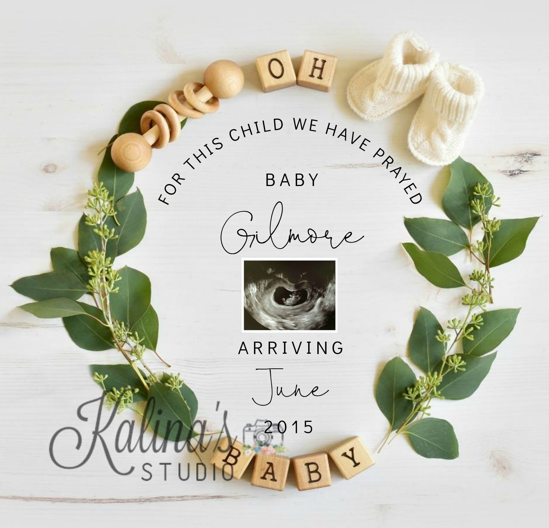 baby announcement social media