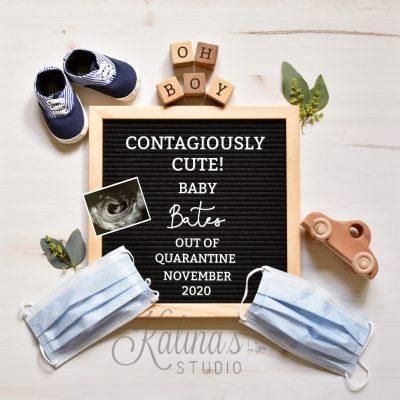 Quarantine Pregnancy Announcement 2