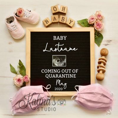 new baby girl announcement